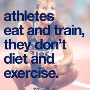 athletes don't train