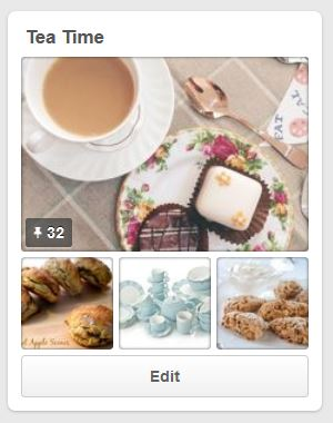 pinterest tea time board